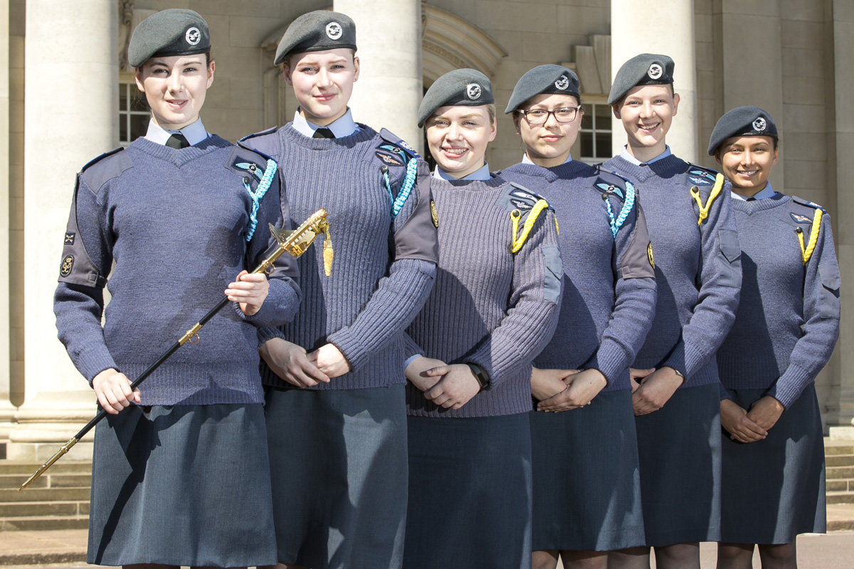 Image result for air cadet presenting to others