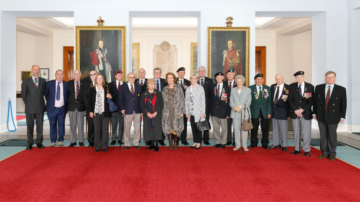 Visit by the Sheffield Branch of the Normandy Veterans – 17 Oct 18