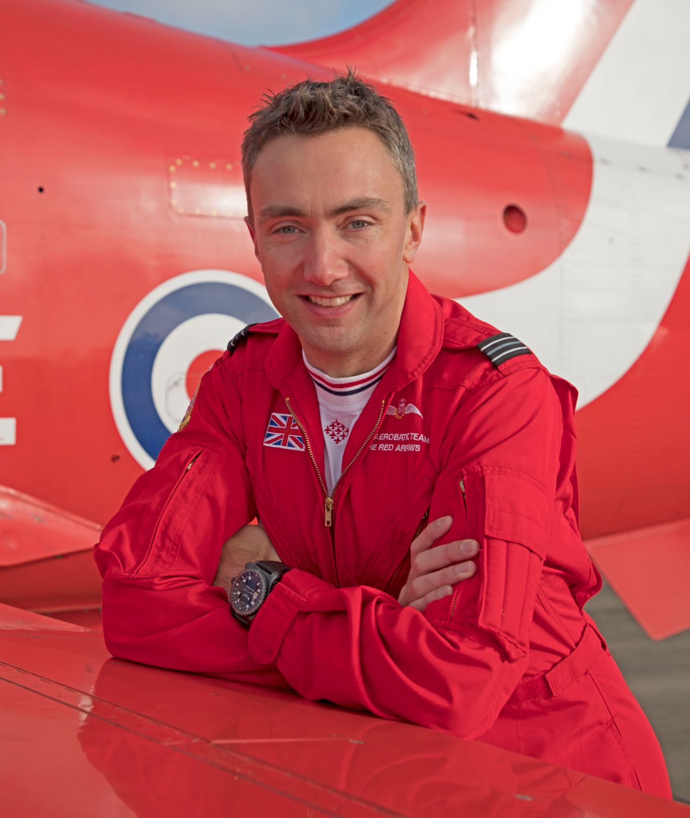 Red 3 for 2020 is Flight Lieutenant Nick Critchell.