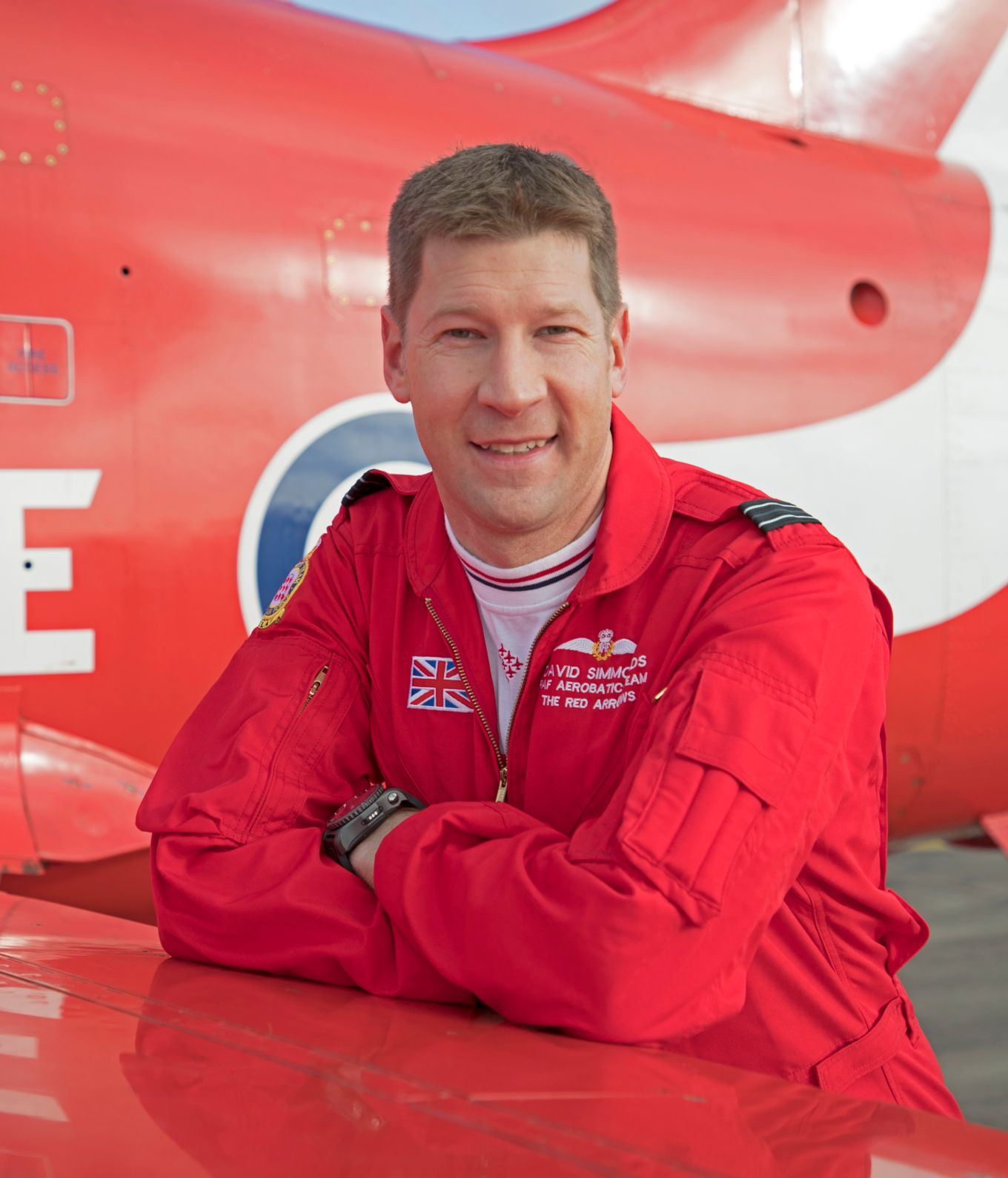 Red 5 in 2020 will be Flight Lieutenant David Simmonds.