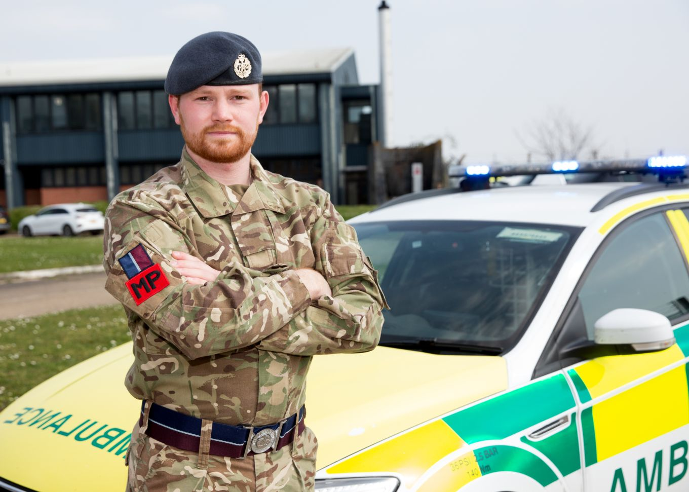 Cpl James Saunders 1 (Tactical) Police Sqn, RAF